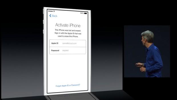 iOS 7 Activation Lock